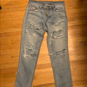American eagle to girl jeans